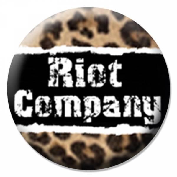 Riot Company - Leopard, Button B097