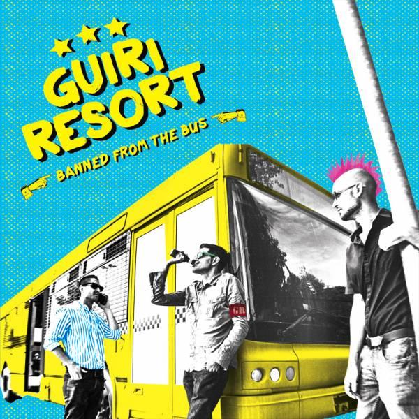 "Guiri Resort - Banned from the bus, 7"" schwarz, lim. 300"