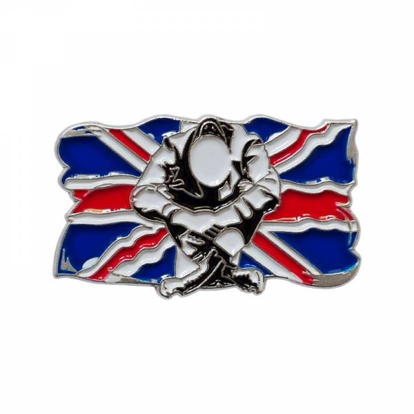Skinhead - Union Jack, Pin