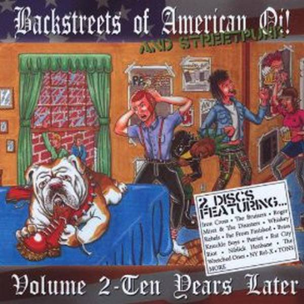 v/a Backstreets Of American Oi! And Streetpunk Volume 2 - Ten Years Later DoCD