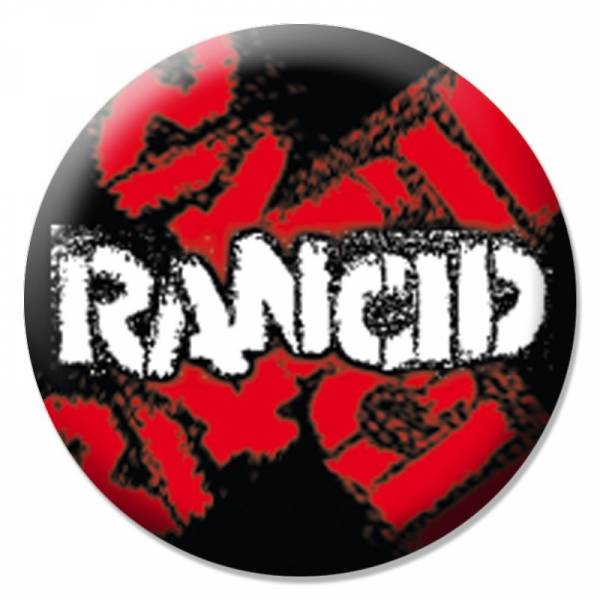Rancid - Logo, Button B094