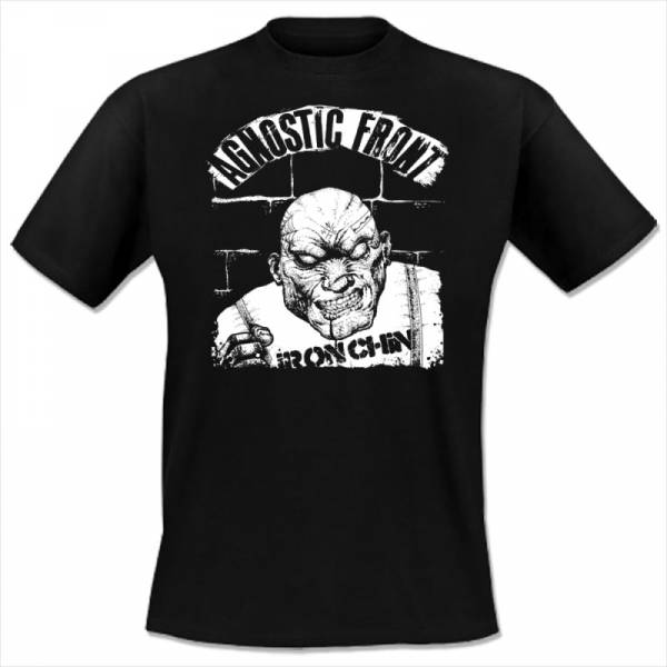 Agnostic Front - Iron Chin, T-shirt schwarz lim. 200 Stk.