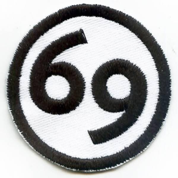 69, Aufnäher