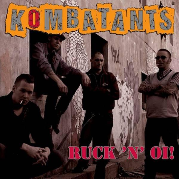 Kombatants - Ruck 'n' Oi!, CD Digipack