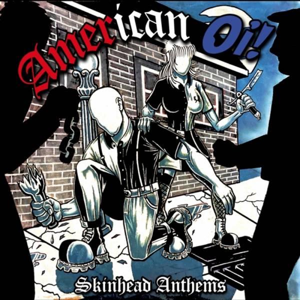 V/A American Oi! - Skinhead Anthems, LP lim. 500, verschiedene Farben