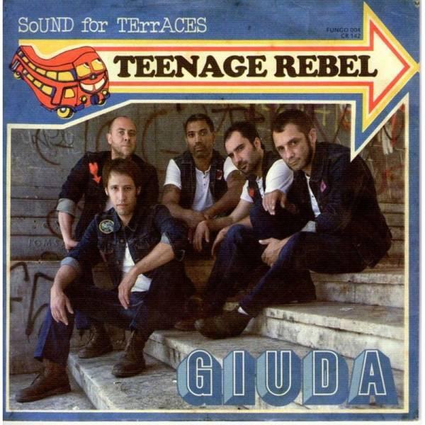 Giuda - Teenage Rebel, 7'' schwarz