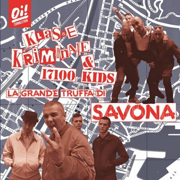 Klasse Kriminale / 17100 Kids - Split, LP + CD lim. 350