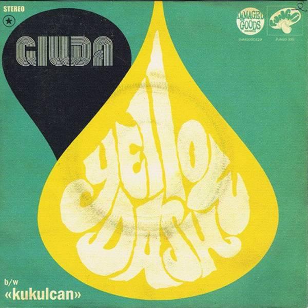 """Giuda - Yellow Dash, 7"""" schwarz"""
