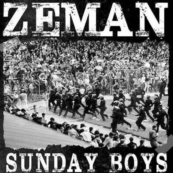 Zeman – Sunday Boys, LP lim. 300 schwarz