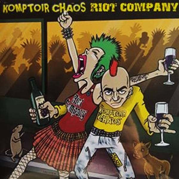 "Komptoir Chaos/Riot Company - Split, 7"" lim. 300 rot"
