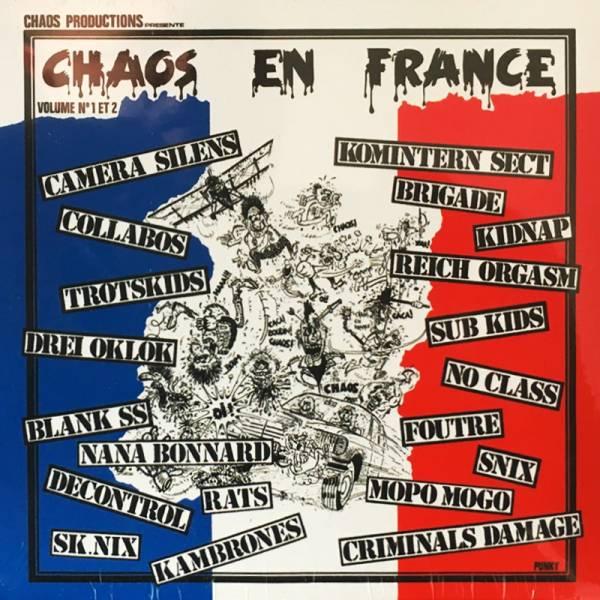 V/A Chaos en France - Vol. 1 + Vol 2, CD Digipack