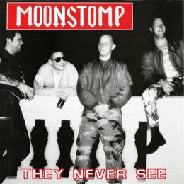 Moonstomp - They Never See, LP lim. 300 black