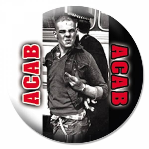 A.C.A.B. - Skinhead, Button B008
