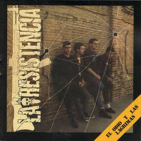 La Resistencia - El Odio Y Las Lágrimas, CD
