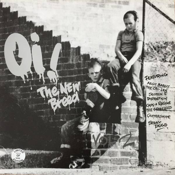 V/A Oi! the new breed - Vol. 2, LP lim. STEP-1 '94 nummeriert