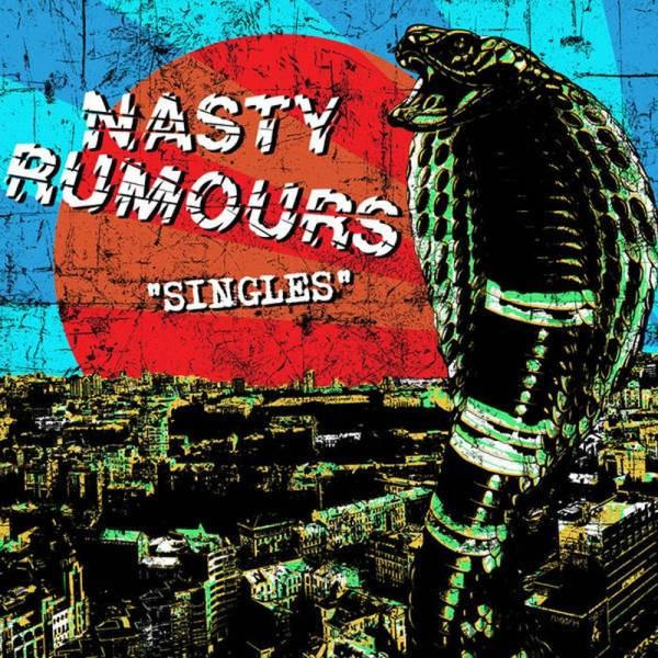 Nasty Rumours - Singles, Lp lim. 200, schwarz