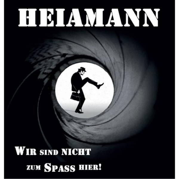 Heiamann - Wir sind nicht zum Spaß hier, LP lim. verschiedene Farben