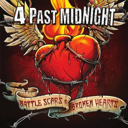 4 Past Midnight - Battle Scars & Broken Hearts, CD