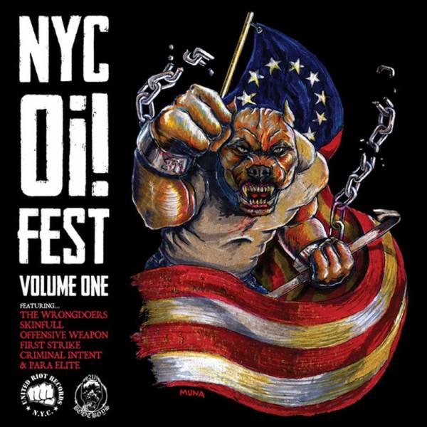 V/A NYC Oi! Fest - Volume 1, LP lim. 500 verschiedene Farben
