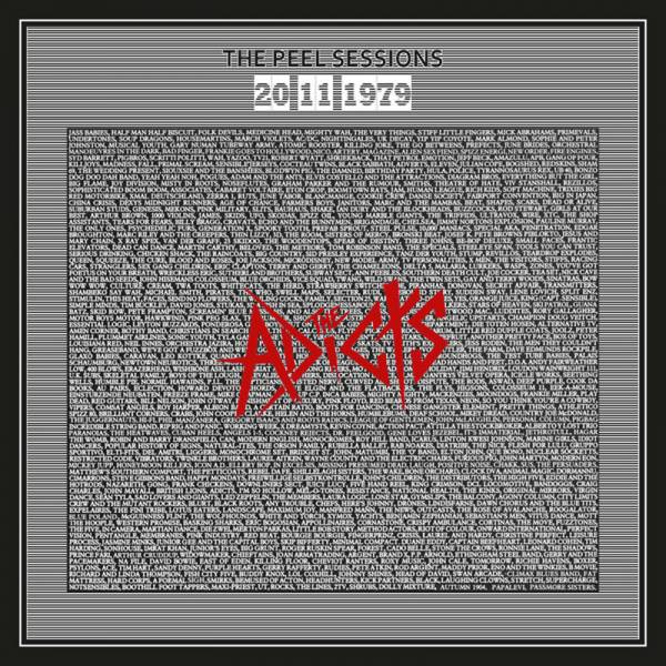 """Adicts, the - The Peel Sessions 1979, 7"""" schwarz, lim. 300, nummeriert"""