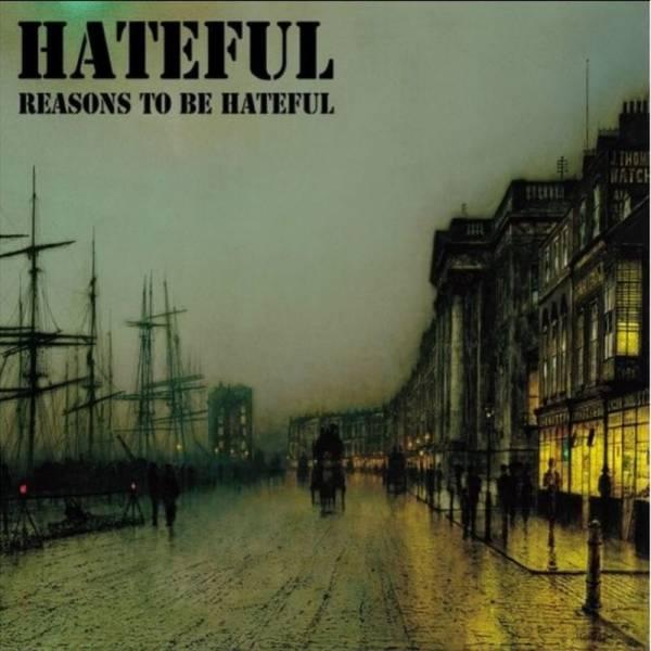 Hateful - Reasons to be hateful, LP lim. 100 grün/gelb splatter