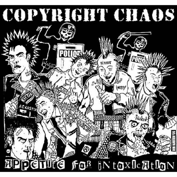 Copyright Chaos - Appetite for intoxication, CD