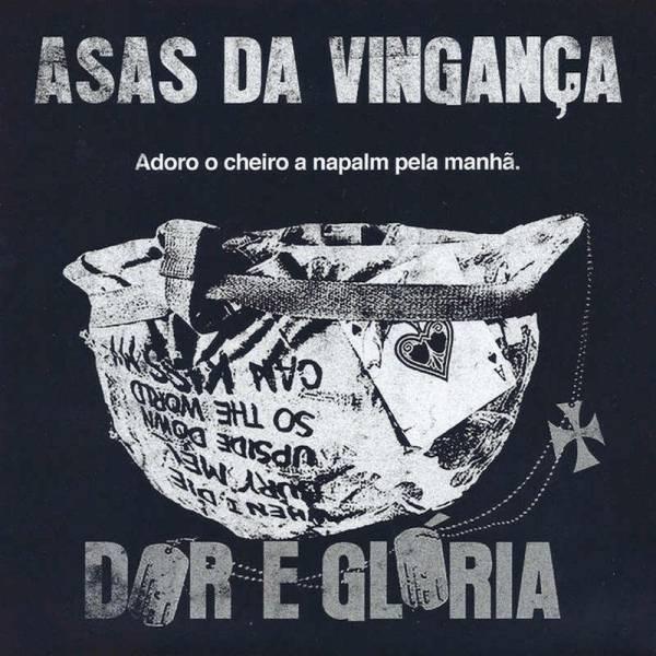 """Asas Da Vinganca - Dor e gloria / Rock dos Suburbios, 7"""" lim. 100 Cover 2"""