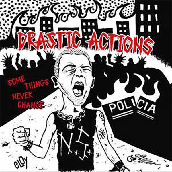 Drastic Actions – Some things never change, EP grau/lila lim. 100 handnummeriert