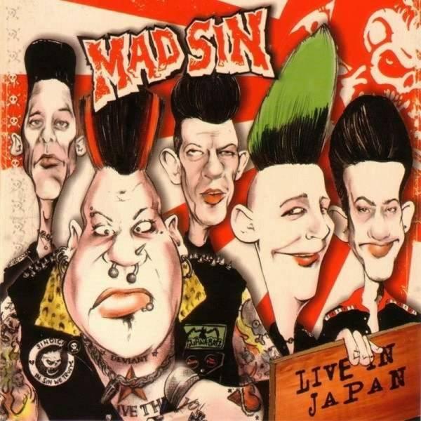 Mad Sin - Live in Japan, LP schwarz