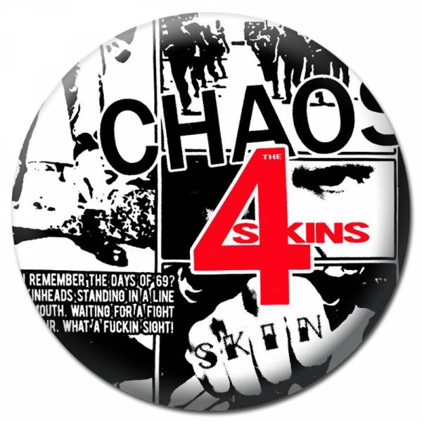 4 Skins, The - Chaos, Flaschenöffnerbutton