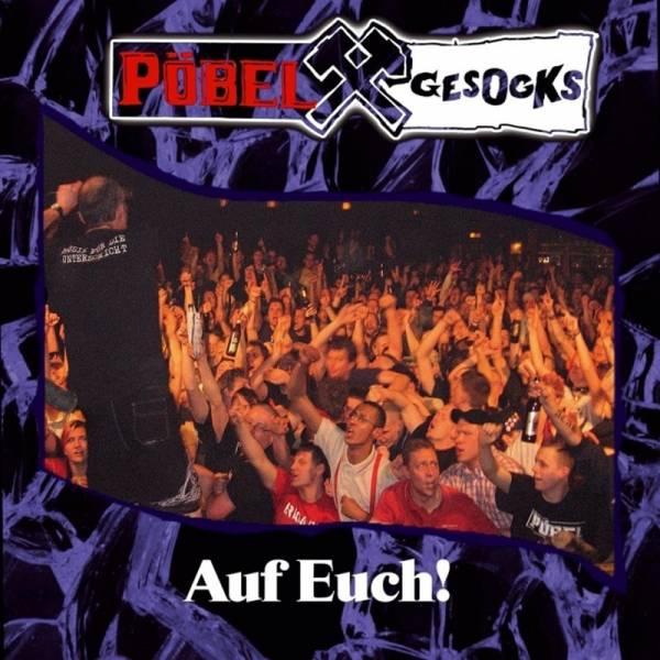 """Pöbel & Gesocks - Auf Euch, 12"""" lim. verschiedene Farben, Super Sound Single"""