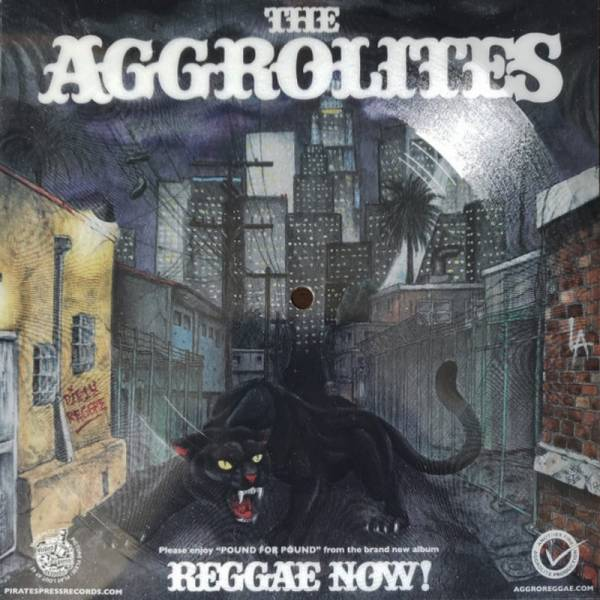 Aggrolites, The - Pound for pound, 7'' Flexi REGGAE NOW