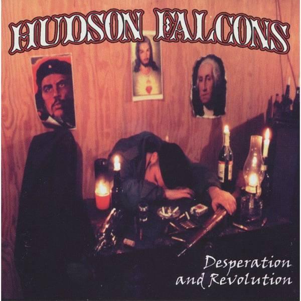 Hudson Falcons - Desperation and Revolution, LP lim. 457 grün