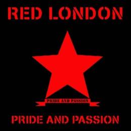 """Red London - Pride and Passion, EP 7"""" black"""