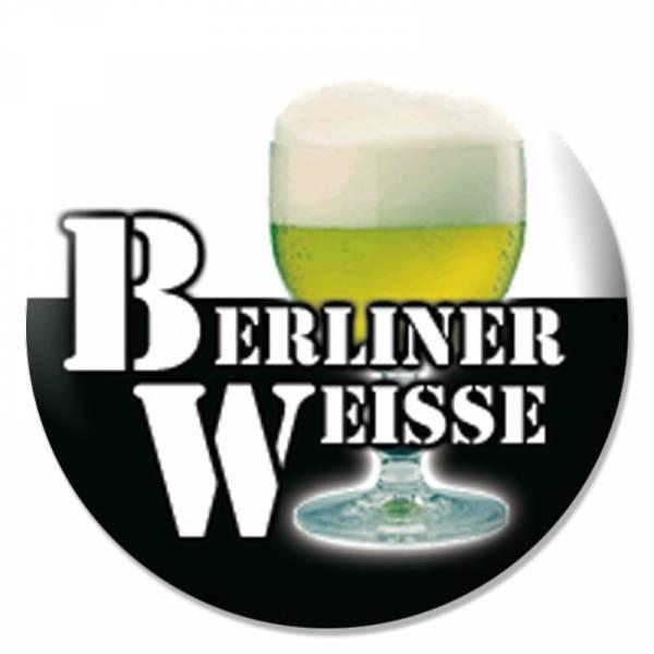 Berliner Weisse - Bierglas, Button B013