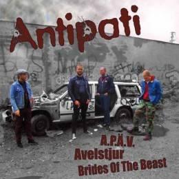 Antipati / Last Rough Cause, 10'' schwarz