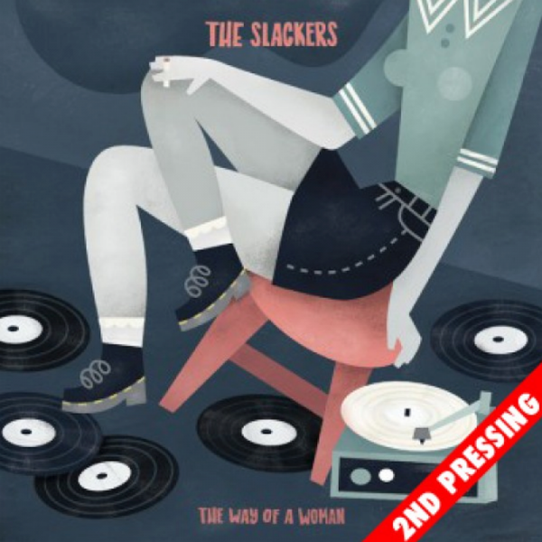 """Slackers, The - The Way of a Woman (2nd pressing) , 7"""" weiß (EHLERSTRATION edition)"""