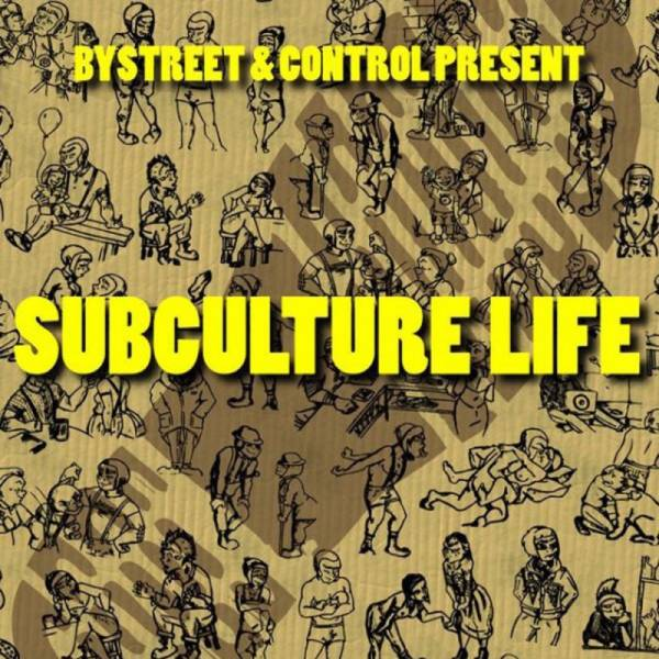 Control / Bystreet - Subcultural life, 7'' lim.500, verschiedene Farben