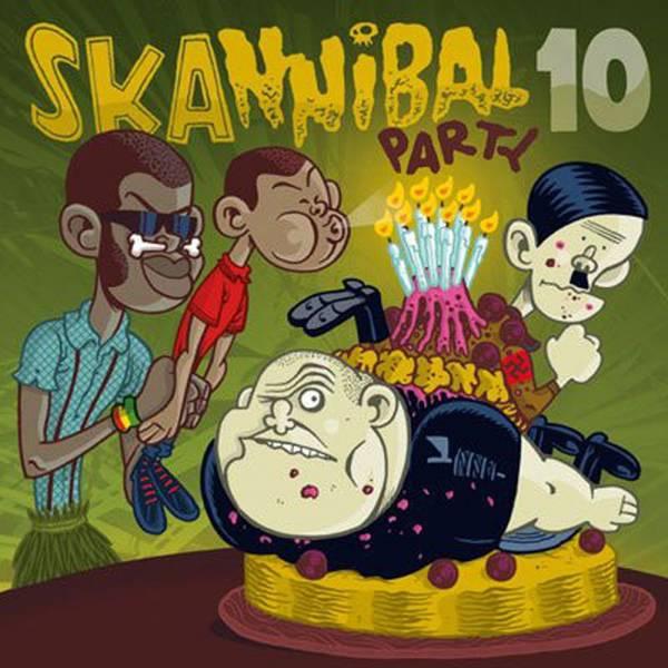 V/A Skannibal Party - Vol. 10, CD