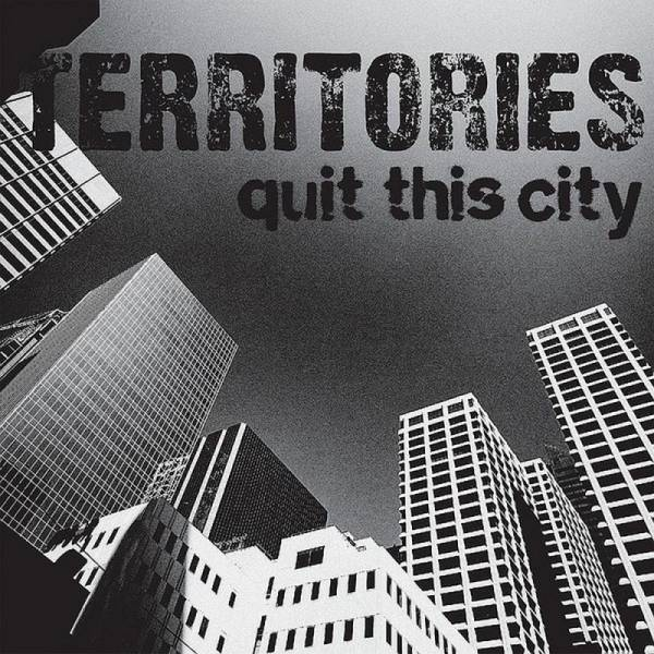 Territories, The - Quit this city, 7'' lim. 1000 milky clear verschiedene Cover