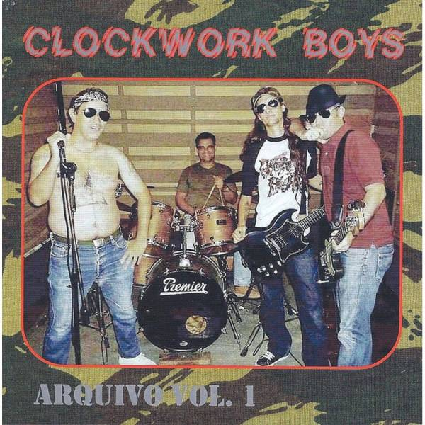 Clockwork Boys - Arquivo Vol. 1, CD