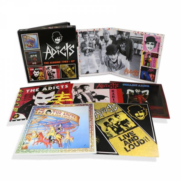 Adicts, The - The Albums 1982 - 87, 5 x CD BOX