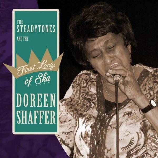 Doreen Shaffer - Fist Lady Of Ska, 7'' schwarz