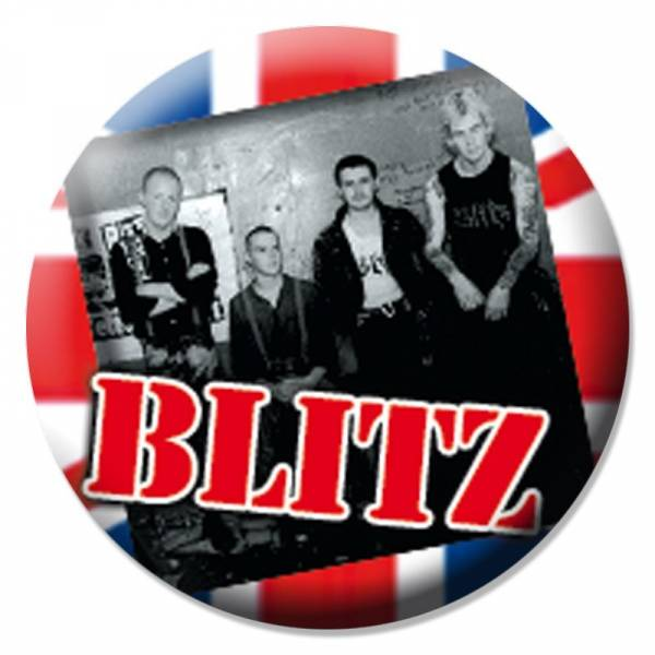 Blitz - Band, Button B018