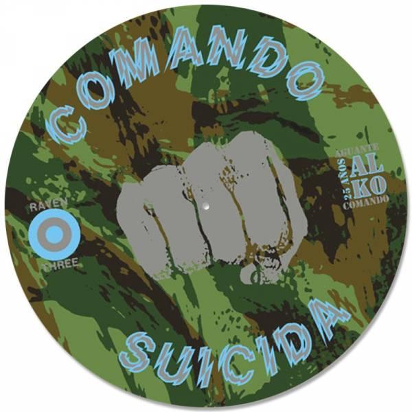 """Comando Suicida - Al K.O., 12"""" lim. 133 Picture"""