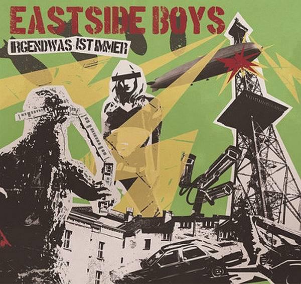 Eastside Boys - Irgendwas ist immer, CD Digipack