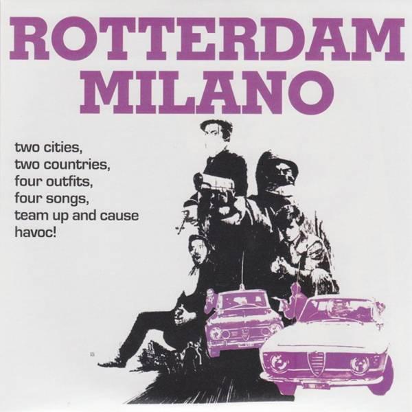 "V/A Rotterdam VS Milano - An Oi! connection, 7"" schwarz lim. 404"