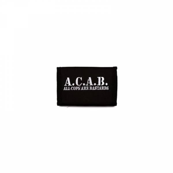 A.C.A.B., Geldbeutel schwarz
