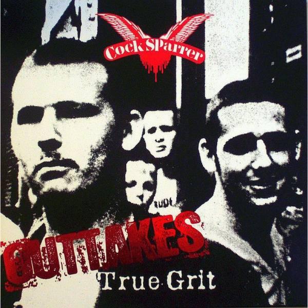 Cock Sparrer - True Grit Outtakes, LP 2. Pressung lim. 1000 schwarz/weiß