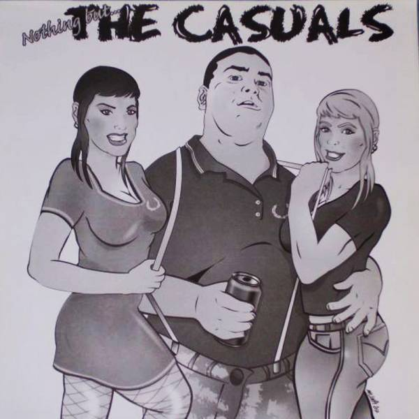 Casuals, the - Nothing but..., LP lim. je 90, verschiedene Farben, sw/w Cover